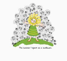 The summer I spent as a sunflower Womens Fitted T-Shirt
