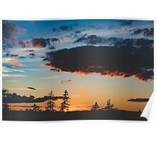 Tantallon Sunset Poster