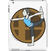Smash Brothers Original Female Wii Fit Trainer iPad Case/Skin