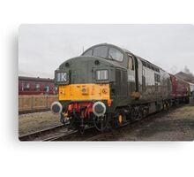 British Rail class 37 diesel-electric Locomotive Canvas Print