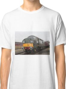 British Rail class 37 diesel-electric Locomotive Classic T-Shirt