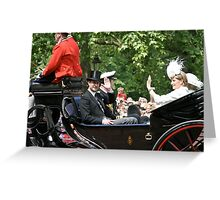 Prince Edward with Sophie Greeting Card
