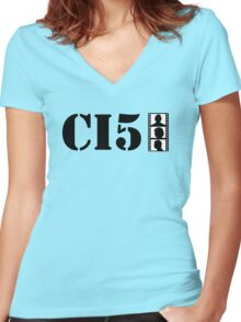 The Professionals - T-Shirts, Stickers and iPhone case Women's Fitted V-Neck T-Shirt