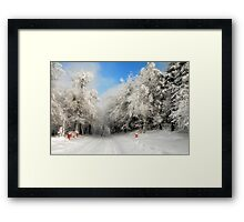 Clearing Skies Framed Print