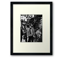 Tight Knit  Framed Print