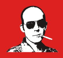Hunter S Thompson - Smoking by Tim Topping