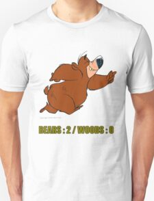 BEAR vs WOODS Unisex T-Shirt