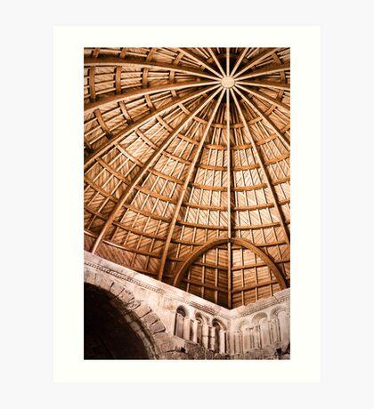 Domed Art Print