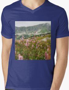Mountain meadow Mens V-Neck T-Shirt