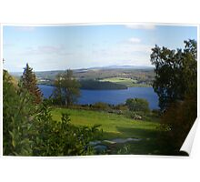 view across Loch Ness Poster