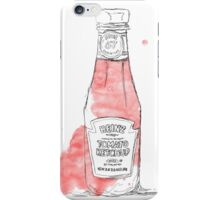 ketchup iPhone Case/Skin
