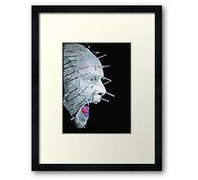 Pinhead Scream - Hellraiser Framed Print