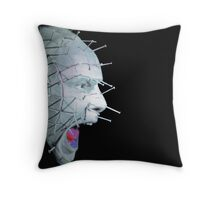 Pinhead Scream - Hellraiser Throw Pillow
