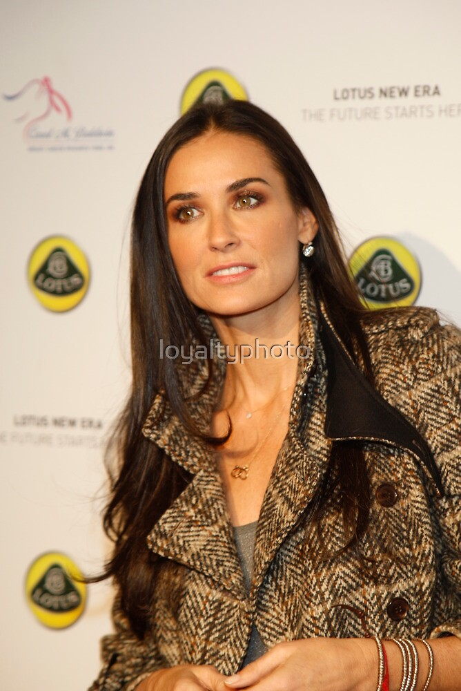 Demi Moore  by loyaltyphoto