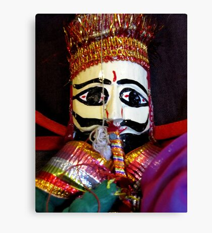 Nepalese Doll Canvas Print