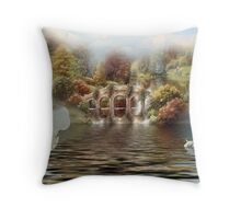 One for the  Fellows ! Throw Pillow
