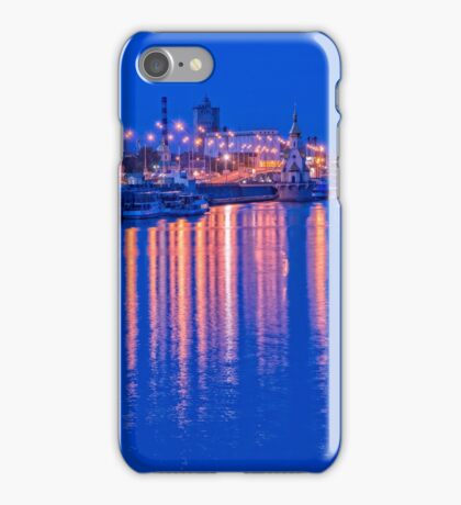 Waterbus ships near the waterfront iPhone Case/Skin