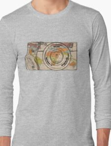 Travel The World With A Camera Long Sleeve T-Shirt