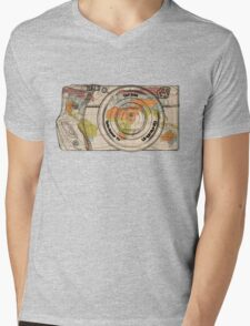 Travel The World With A Camera Mens V-Neck T-Shirt
