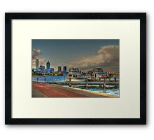 THE OLD BREWERY JETTY-173 Mounts Bay Road – Crawley Framed Print