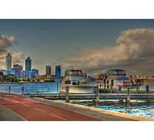 THE OLD BREWERY JETTY-173 Mounts Bay Road – Crawley Photographic Print