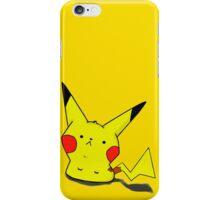 Pikachu-chui iPhone Case/Skin
