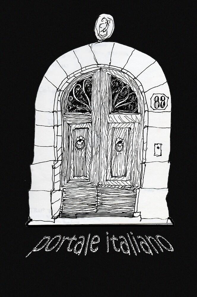 Italy - portale Italiano - Firenze by James Lewis Hamilton
