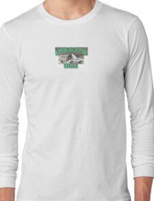 da bomb apocalypse auto bus plow car Long Sleeve T-Shirt