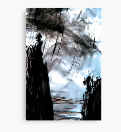 storm out at sea Canvas Print
