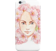 Face of spring iPhone Case/Skin