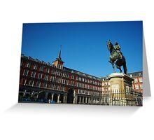 Plaza Mayor - Madrid Greeting Card