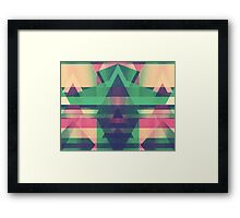 Dimond inception Framed Print