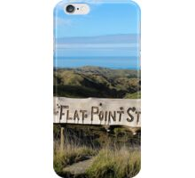 Flat Point Station iPhone Case/Skin