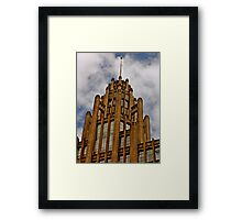 Gotham City? Framed Print