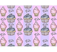 cupcakes and ice-cream!  Photographic Print