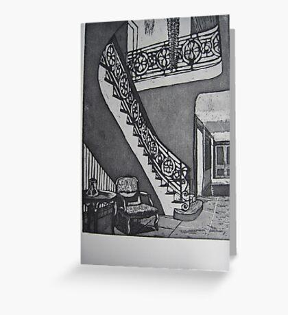 Grand Entrance Greeting Card