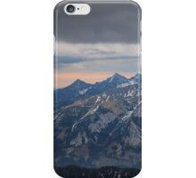 Mountain ridge iPhone Case/Skin