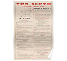 United States Department of Agriculture Poster 0257 The South Nation's Greatest Assett Poster
