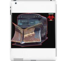 apocalypse auto plow bus iPad Case/Skin