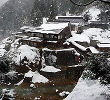 Jigokudani ryokan by Glen O'Malley