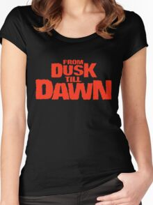 From dusk till dawn Women's Fitted Scoop T-Shirt