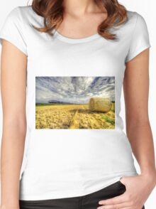 The 0706 Pad Paignton  Women's Fitted Scoop T-Shirt