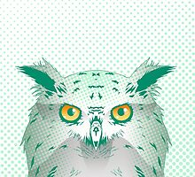 EAGLE OWL by Alice in Underland