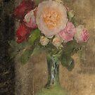 The Vase of Roses by julie anne  grattan