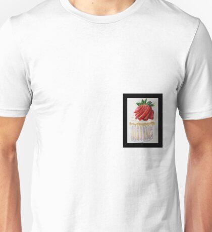 Strawberry Cupcake  Unisex T-Shirt