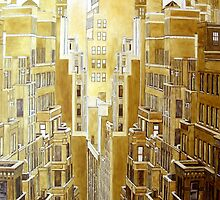 New York by Michael B.Sky