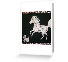 Scottie and Flash Greeting Card