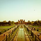 PATHWAY-TAJ MAHAL by manumint