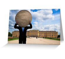 Full Moon Over Vienna Greeting Card