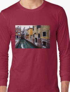 Impressions of Venice - Fabulous Distinctive Chimneys and Charming Bridges Long Sleeve T-Shirt